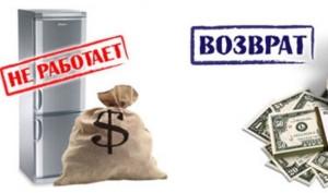 Возврат денег за покупку в каких случаях требуется заявление